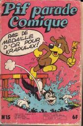 Pif Parade Comique -15- Pas de médailles d'or pour Krapulax!