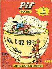 Pif Poche -205- La moto...