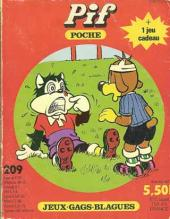 Pif Poche -209- Le Rugby