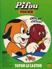 Pifou (Poche) -109- Totor le castor