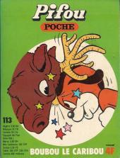 Pifou (Poche) -113- Boubou le caribou