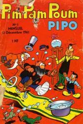 Pim Pam Poum (Pipo - Mensuel) -1- Mensuel n°001