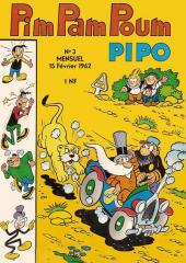 Pim Pam Poum (Pipo - Mensuel) -3- Mensuel n°003