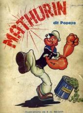 Popeye -1- Mathurin dit Popeye
