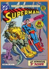 Superman (Sagédition - Présence de l'avenir) -RC07- Superman - Le vengeur d'acier