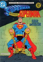 Superman (Sagédition - Présence de l'avenir) -RC09- Superman recherche Superman : futur anterieur