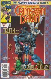Psylocke & Archangel Crimson Dawn (1997) -4- The dawning dusk