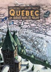 Québec - Québec. un détroit dans le fleuve