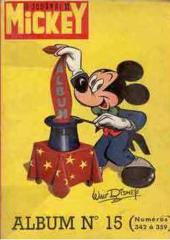 (Recueil) Mickey (Le Journal de) -15- Album n°15 (n°342 à 359)