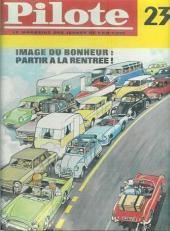 (Recueil) Pilote (Album du journal - Édition française cartonnée) -23- Reliure n°23