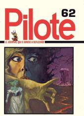 (Recueil) Pilote (Album du journal - Édition française cartonnée) -62- Reliure n°62