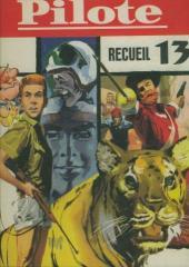 (Recueil) Pilote (Album du journal - Édition française cartonnée) -13- Reliure n°13