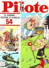 (Recueil) Pilote (Album du journal - Édition française cartonnée) -54- Reliure n°54