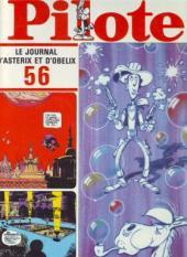 (Recueil) Pilote (Album du journal - Édition française cartonnée) -56- Reliure n°56