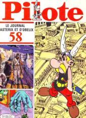 (Recueil) Pilote (Album du journal - Édition française cartonnée) -58- Reliure n°58