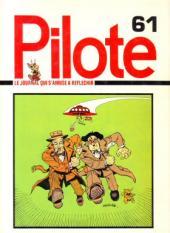 (Recueil) Pilote (Album du journal - Édition française cartonnée) -61- Reliure n°61