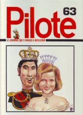 (Recueil) Pilote (Album du journal - Édition française cartonnée) -63- Reliure n°63