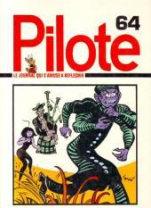 (Recueil) Pilote (Album du journal - Édition française cartonnée) -64- Reliure n°64
