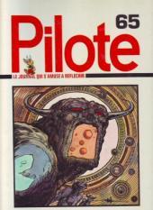 (Recueil) Pilote (Album du journal - Édition française cartonnée) -65- Reliure n°65