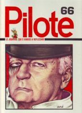 (Recueil) Pilote (Album du journal - Édition française cartonnée) -66- Reliure n°66
