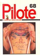 (Recueil) Pilote (Album du journal - Édition française cartonnée) -68- Reliure n°68