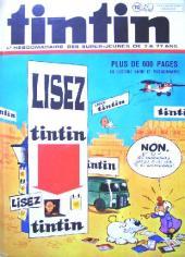 (Recueil) Tintin (Album du journal - Édition belge) -112- Tome 112