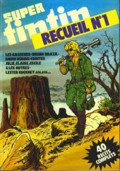 (Recueil) Tintin Super -R1- Reliure Super Tintin n°19 Heros, 20 Coups de foudre, 22 Heroic fantasy, 23 Baroudeurs