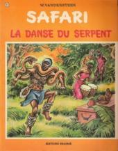 Safari (Vandersteen) -9- La danse du serpent