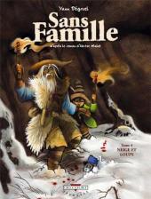 Sans famille (Dégruel) -4- Neige et loups