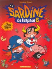 Sardine de l'espace (Dargaud) -6- La cousine Manga