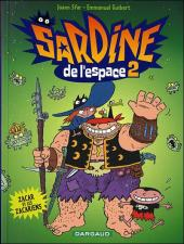 Sardine de l'espace (Dargaud) -2- Zacar et les zacariens