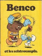Les schtroumpfs -Pub2- Benco et les schtroumpfs.