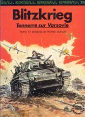 La seconde guerre mondiale - Histoire B.D. / Bande mauve -1- Blitzkrieg - Tonnerre sur Varsovie
