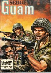 Sergent Guam -REC21- Collection reliée N°21 (du N°81 au N°84)