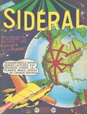 Sidéral (1re série) -1- Les canaux de la Terre