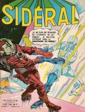 Sidéral (1re série) -20- La menace du miroir de Mars