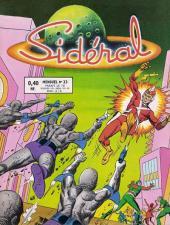 Sidéral (1re série) -23- Les envahisseurs du sous-sol