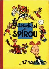 Spirou et Fantasio -1a1956- 4 aventures de Spirou ...et Fantasio