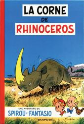 Spirou et Fantasio -6b70- La corne de rhinocéros