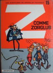 Spirou et Fantasio -15a67- Z comme zorglub