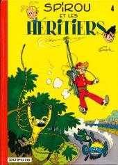 Spirou et Fantasio -4c74- Spirou et les héritiers