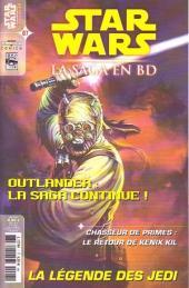 Star Wars - BD Magazine / La saga en BD -7- Outlander (3&4/6) - La Légende des Jedi (3e partie) - Kenix Kil La Chute des héros & Une conviction inébranlable