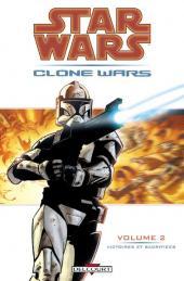 Star Wars - Clone Wars -2- Victoires et sacrifices