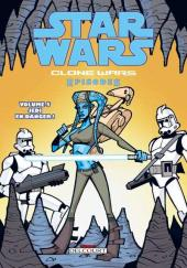 Star Wars - Clone Wars Episodes -5- Jedi en danger !