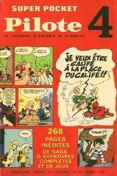 (Recueil) Pilote (Super Pocket) -4- Recueil n°4