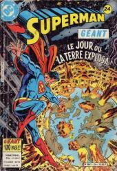Superman Géant (Sagédition - 2e série) -24- Le jour où la Terre explosa