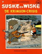 Suske en Wiske -215- De krimson-crisis