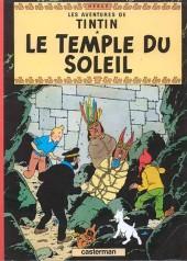 Tintin - Publicités -14Total- Le Temple du Soleil