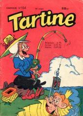 Tartine -104- Le taureau à lunettes