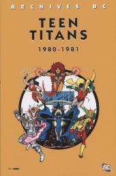Teen Titans (Archives DC) -1- 1980-1981
